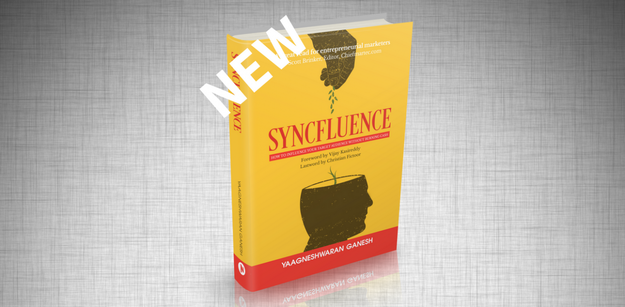 NEW BOOK SYNCFLUENCE (Yaagneshwaran Ganesh & Christian Fictoor)
